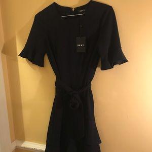 Navy DKNY dress